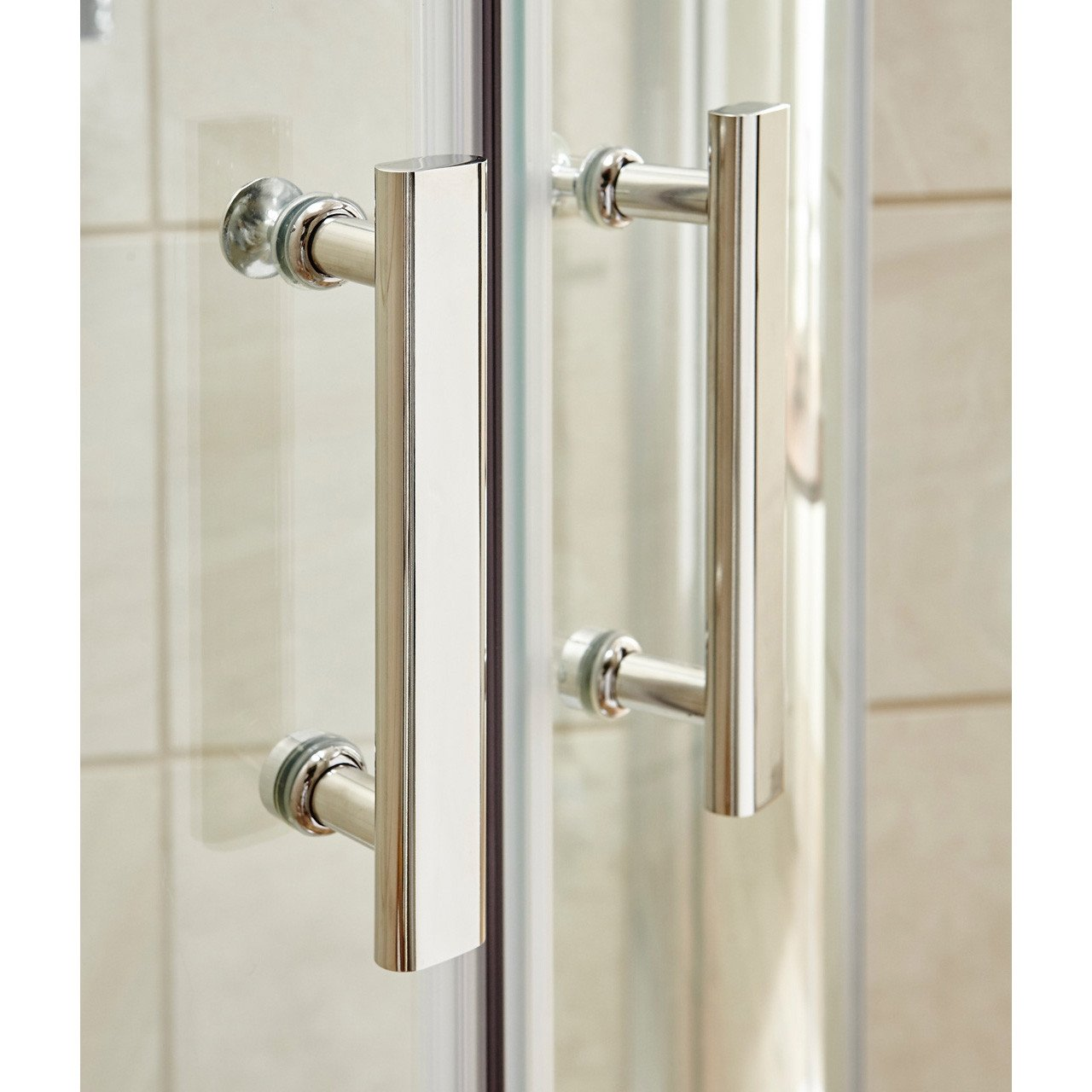 Premier Pacific Sliding Shower Door 1100mm - AQSL11