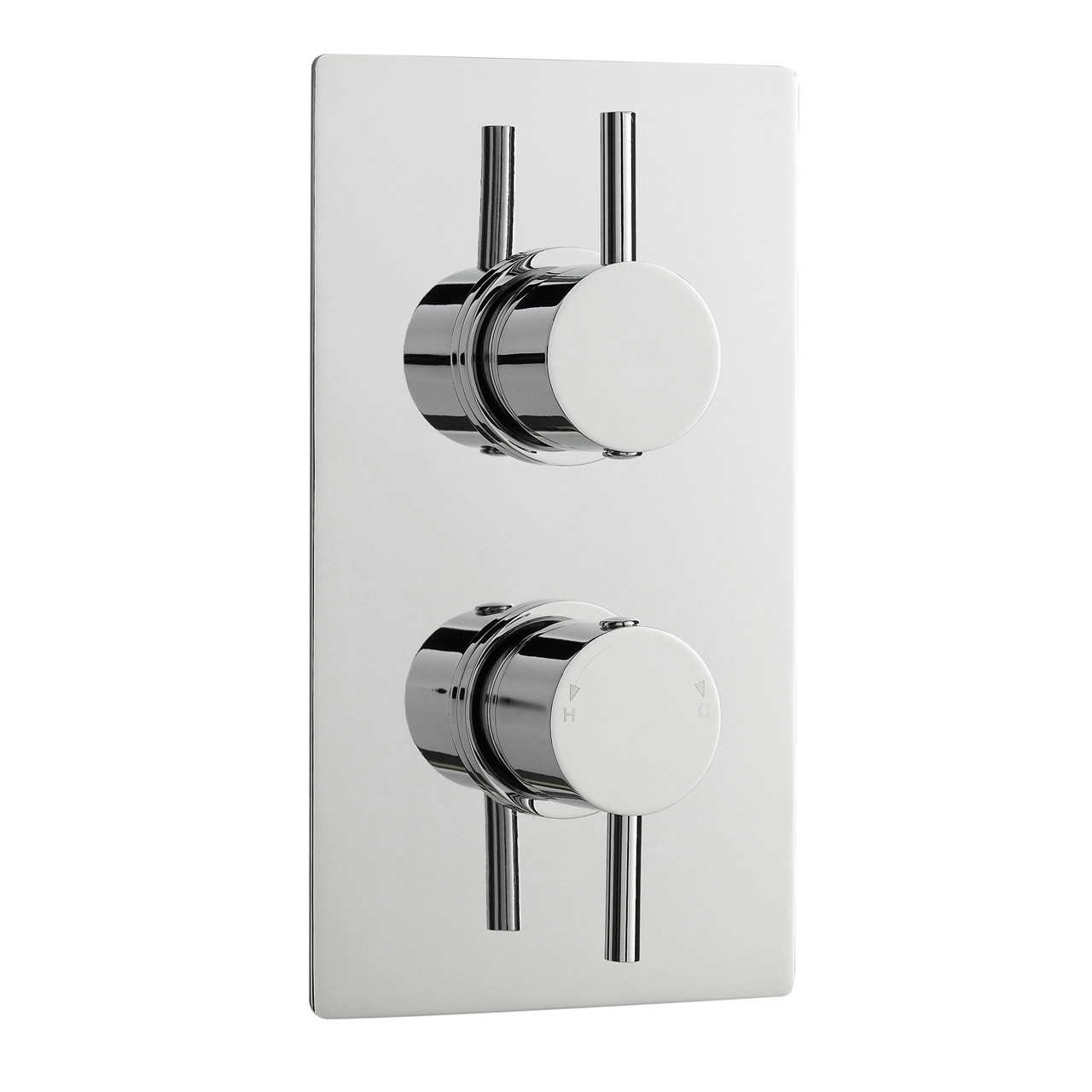 Premier Pioneer Diverter with Minimalist Levers Square Plate - JTY392