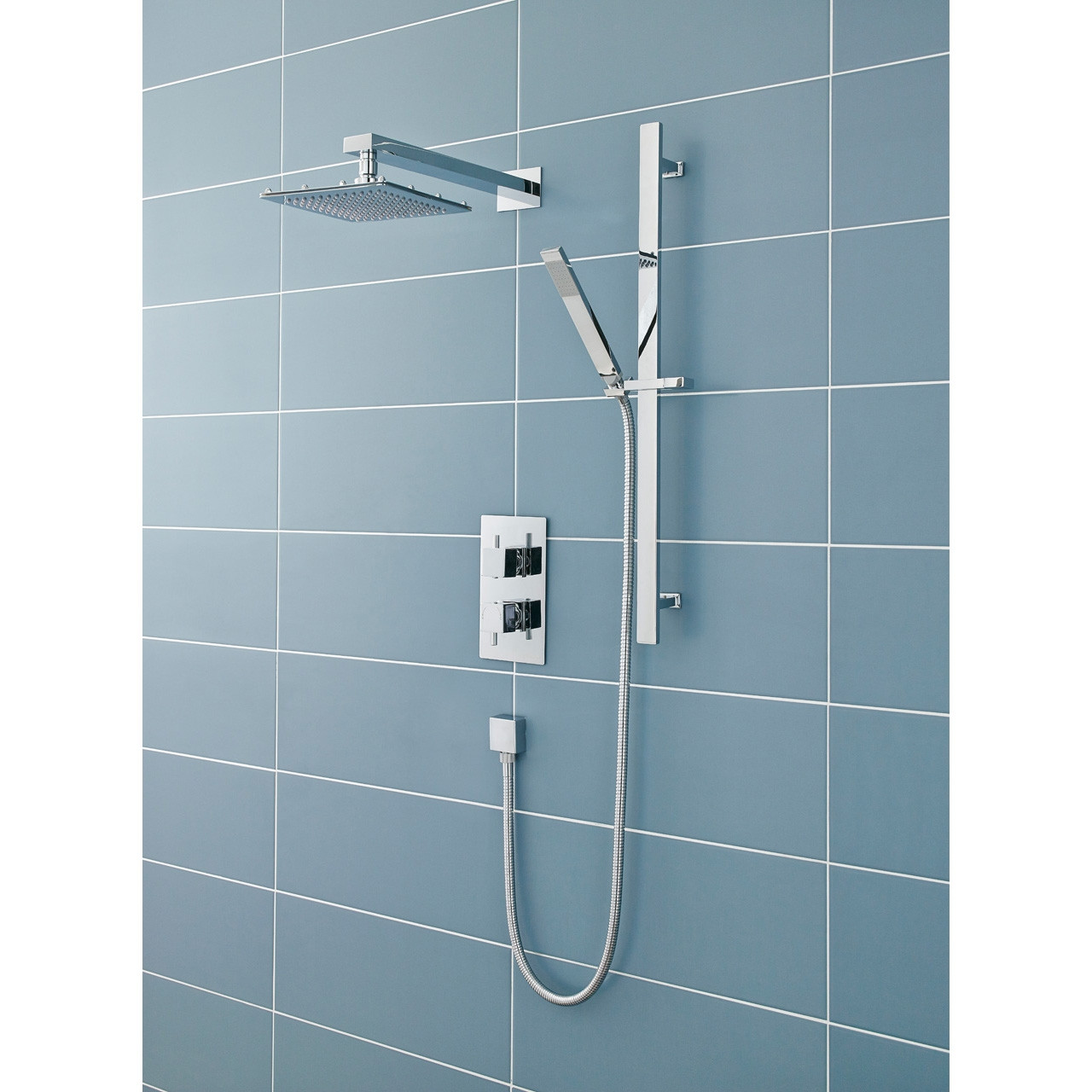 Premier Pioneer Diverter with Square Handle and Square Plate ABS - JTY391