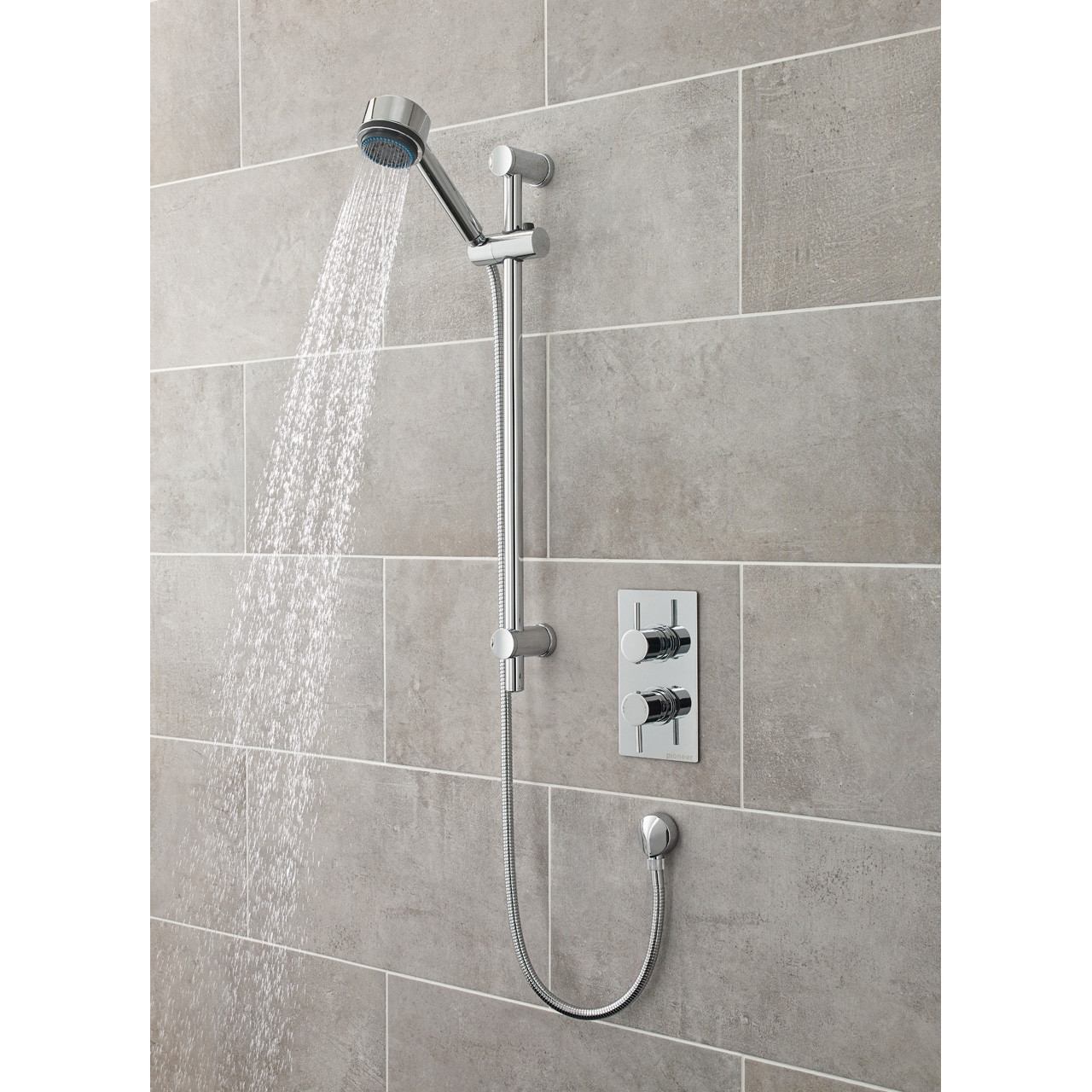 Premier Pioneer Twin Thermostatic Valve Round Handles - JTY370
