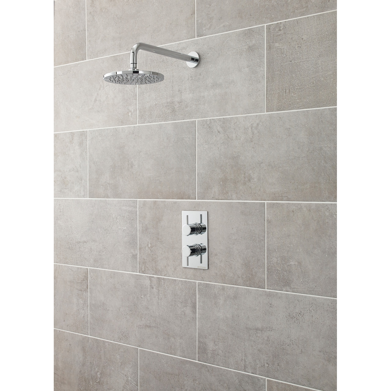 Premier Pioneer Twin Thermostatic Valve Round Handles - JTY372