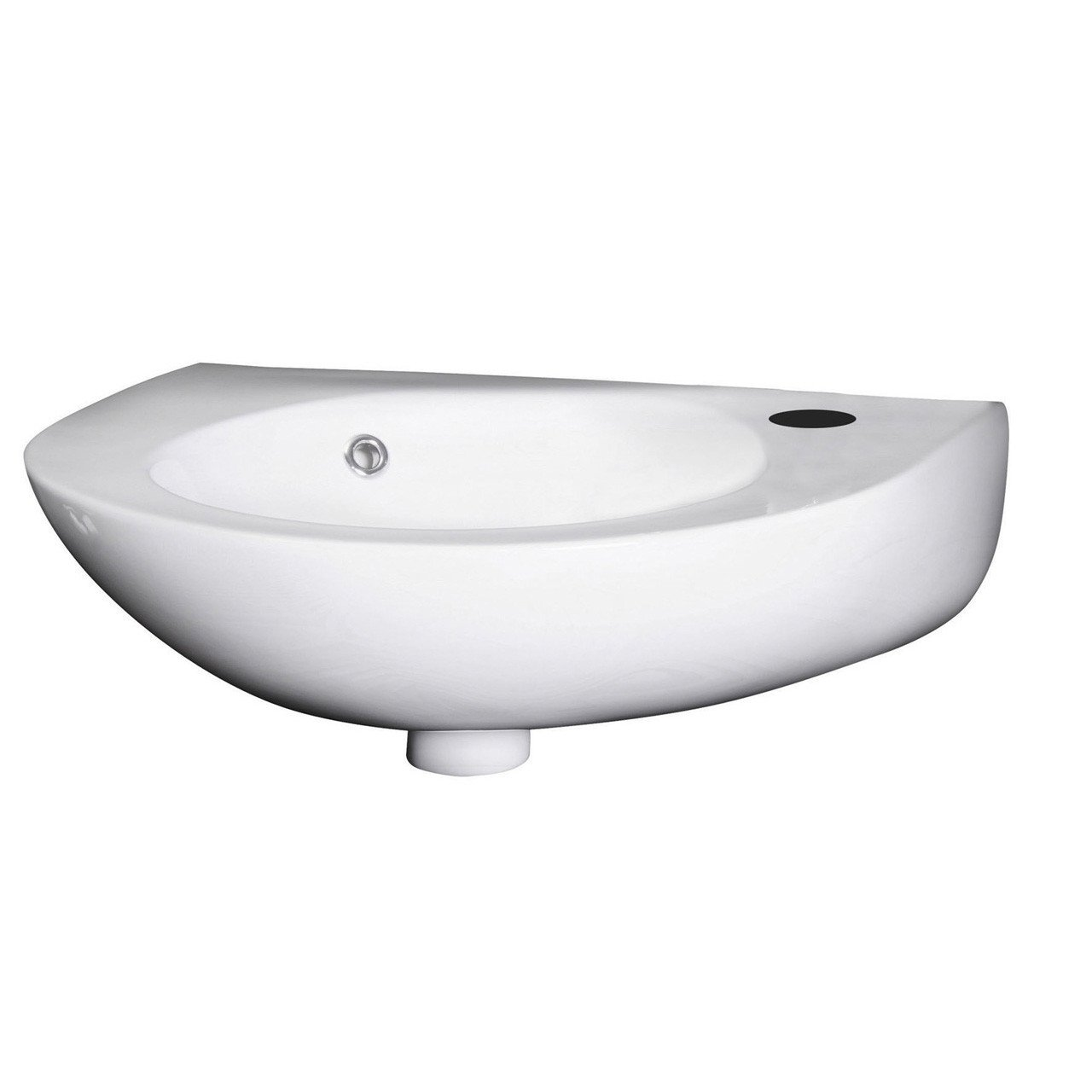 Nuie 350mm Wall Hung Basin with 1 Tap Hole - NCU932
