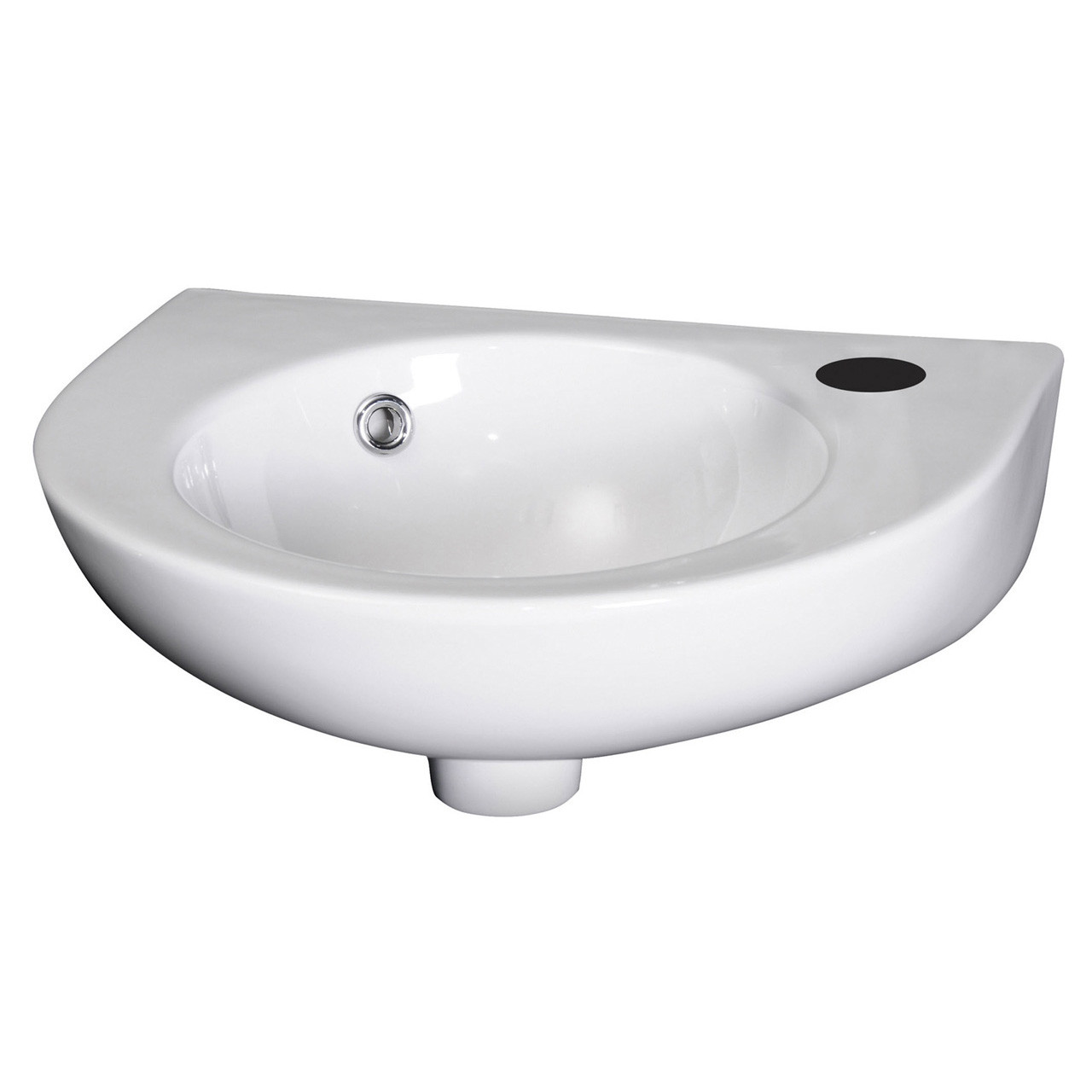 Nuie 430mm Wall Hung Basin with 1 Tap Hole - NCU942