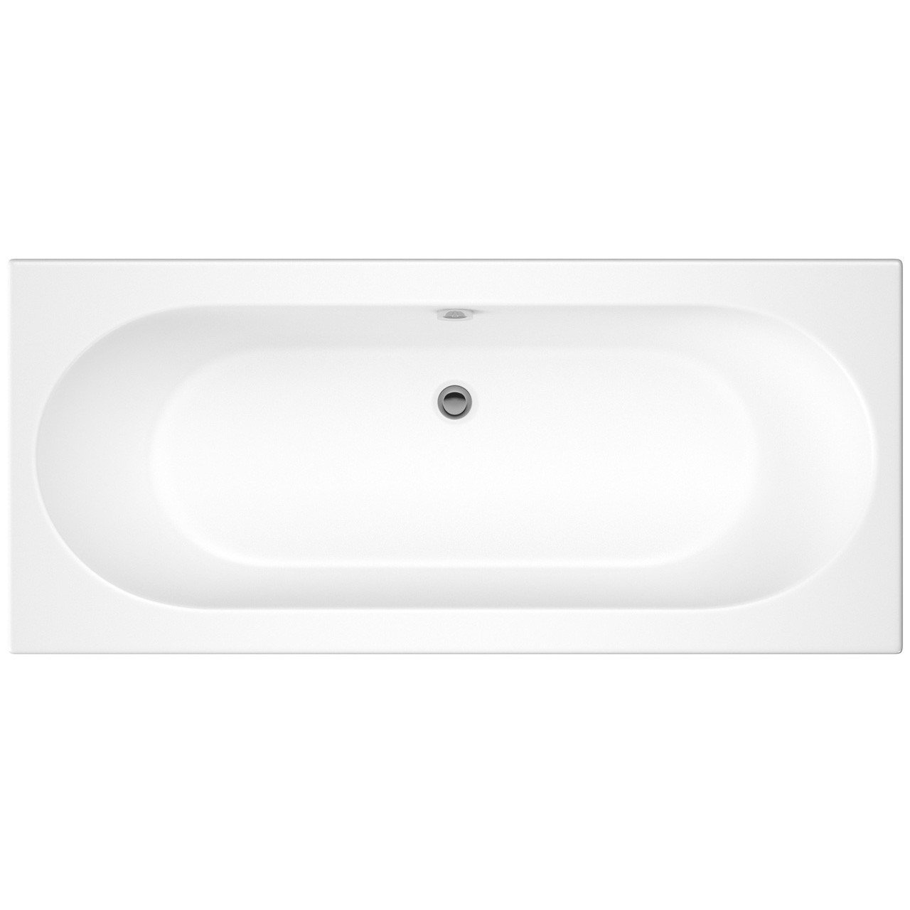 Nuie Otley 1700mm x 700mm Round Double Ended Bath - NBA509