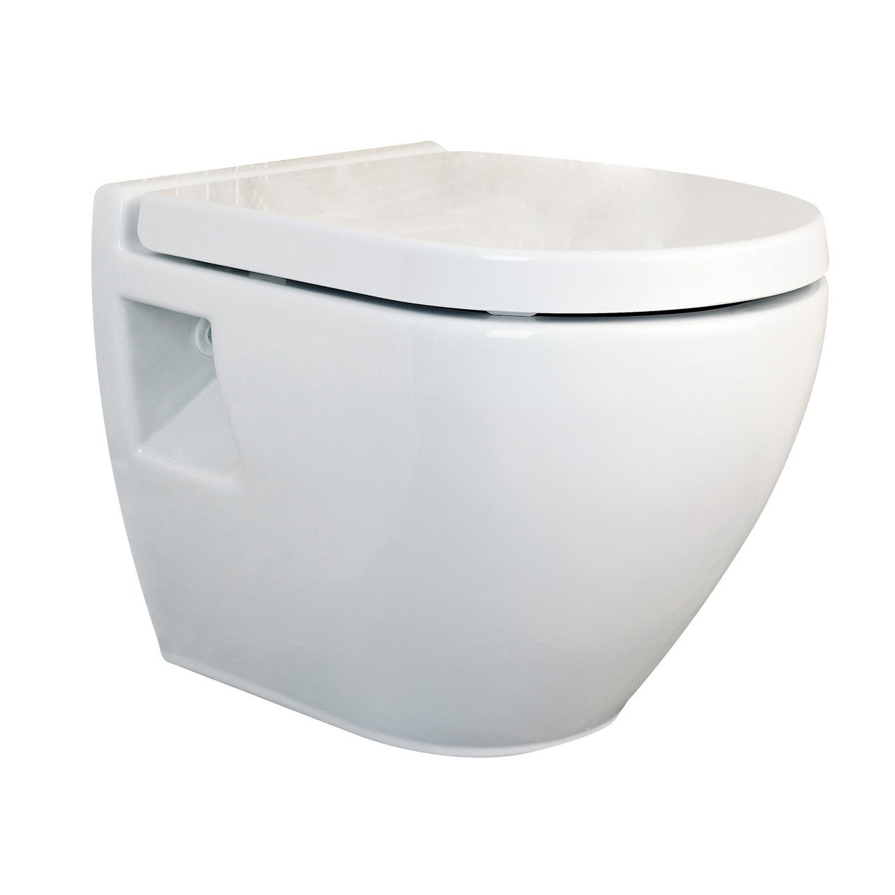 Nuie Provost Round Wall Hung Pan - NCU900C