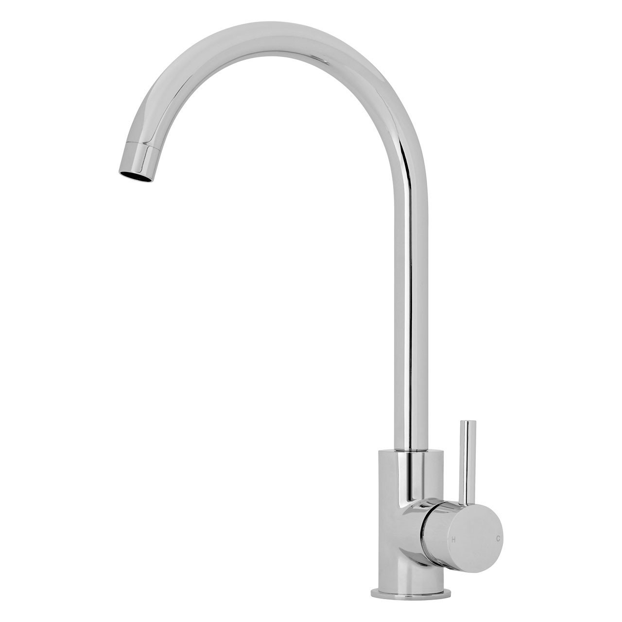Premier Single Lever Kitchen Tap with Swivel Spout - KB325