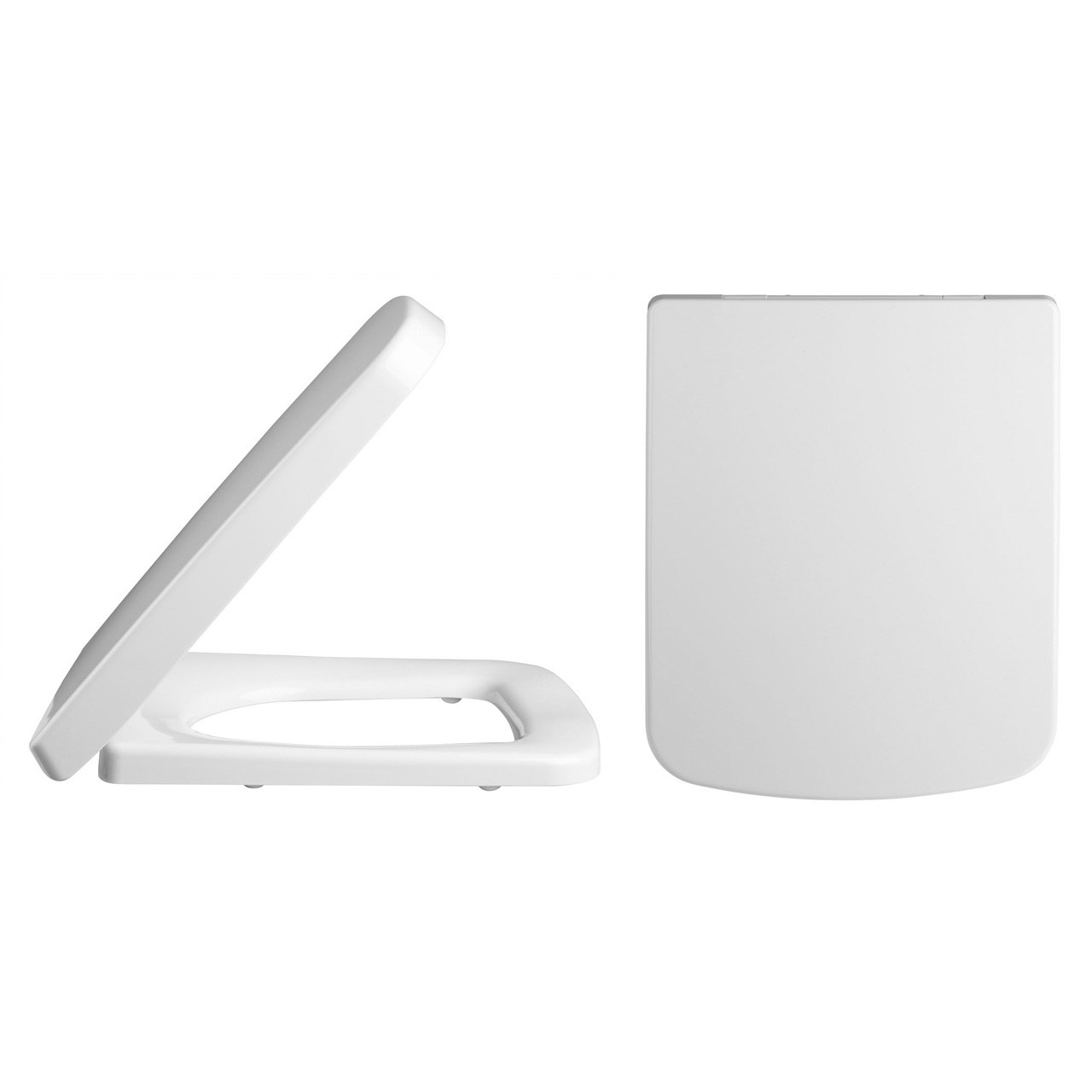 Premier Soft Close Square Toilet Seat with Quick Release - NCH198
