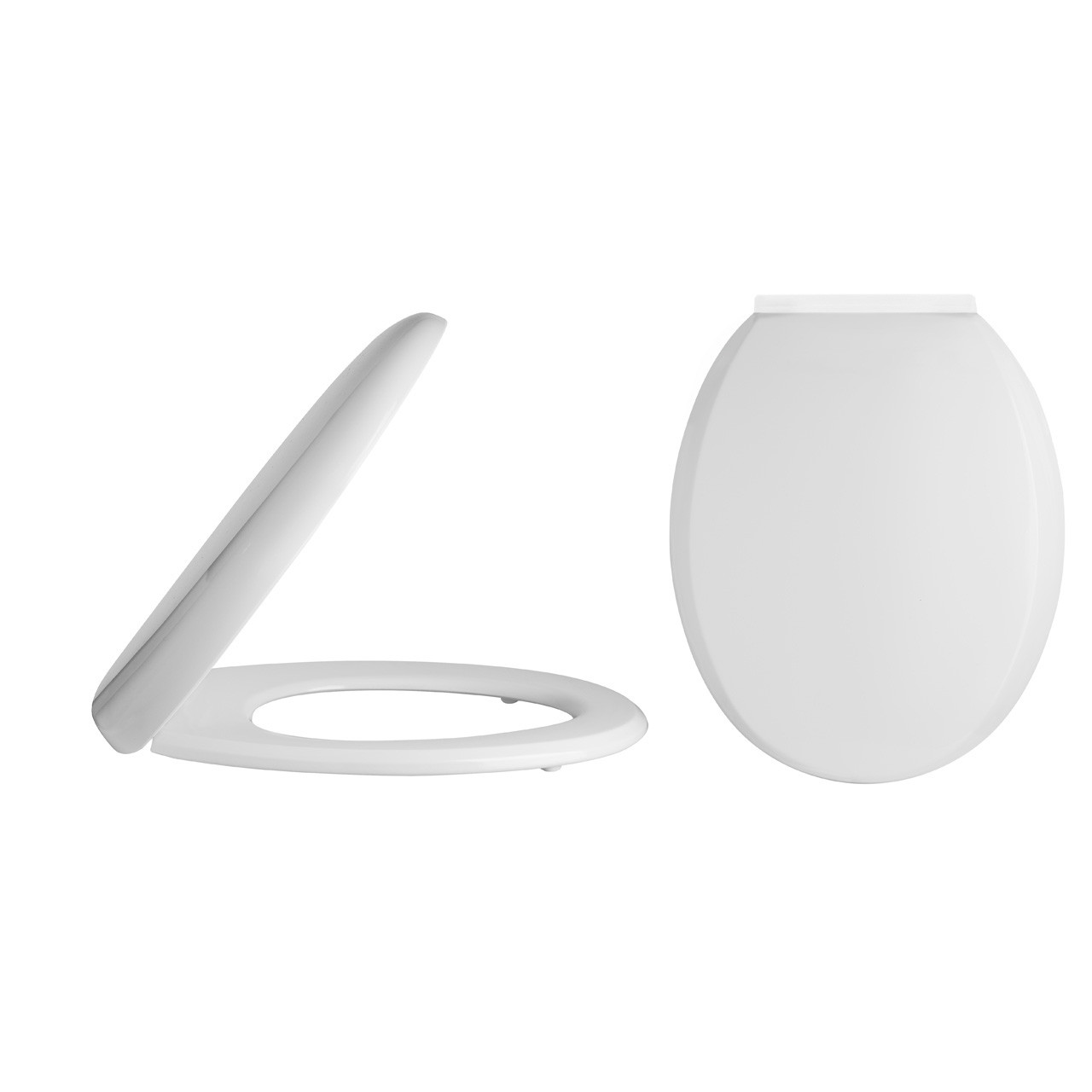 Premier Standard Round Soft Close Toilet Seat with Top Fix - NTS008