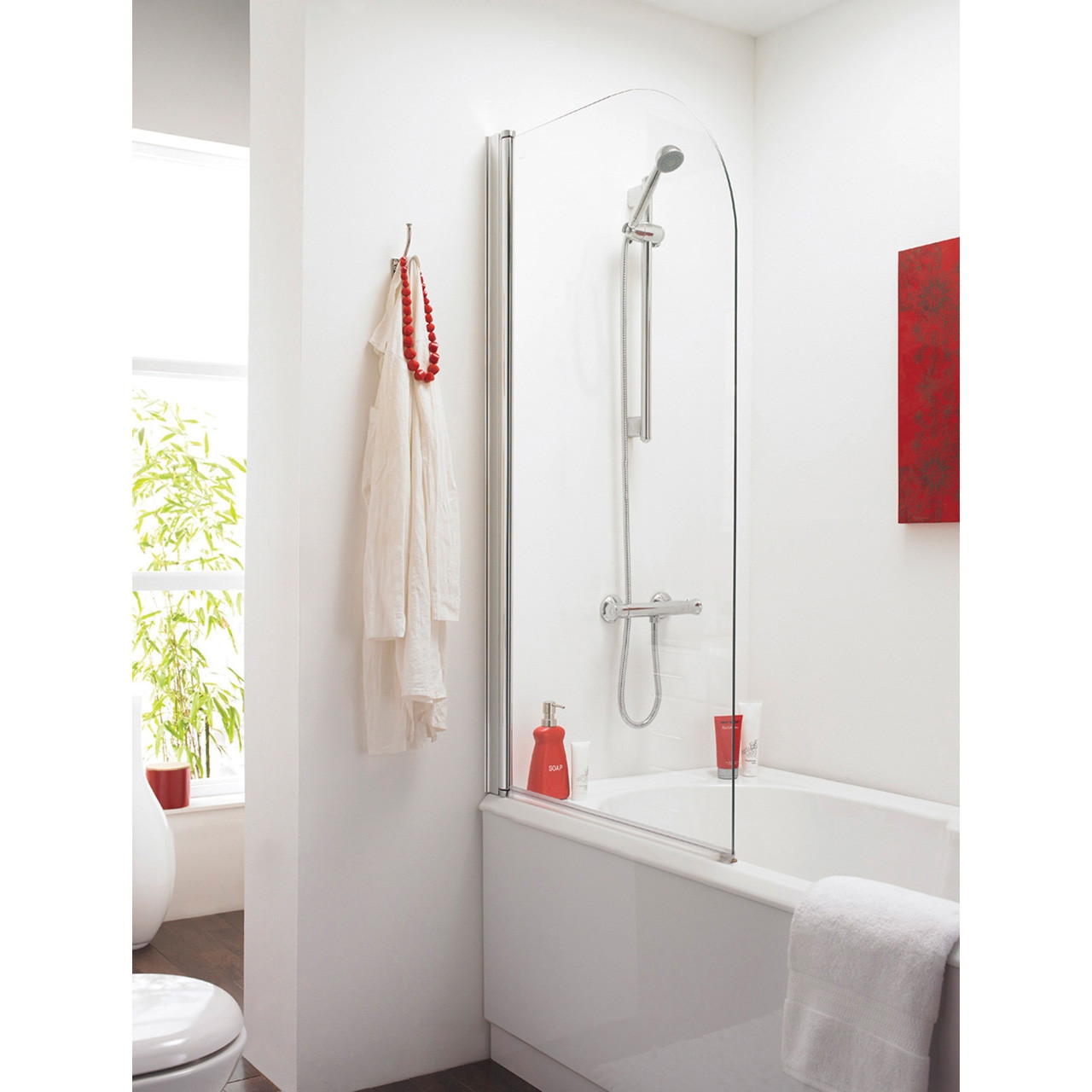 Premier Straight Bath Screen - NSS1