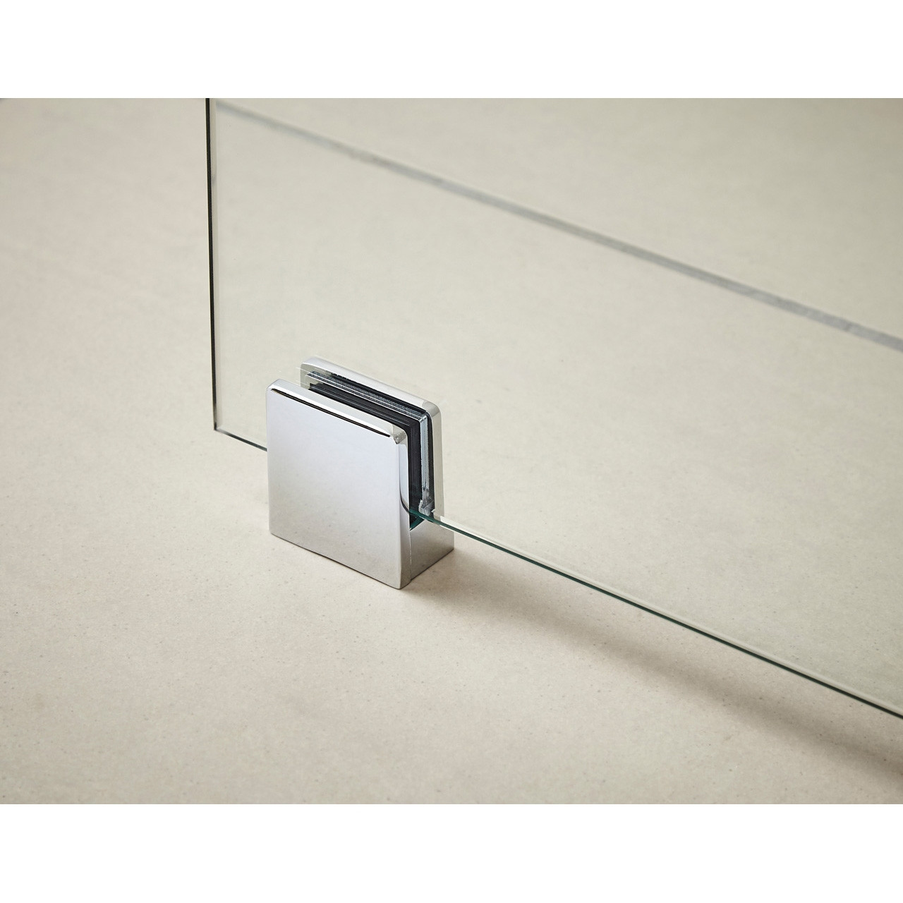 Nuie Wetroom Shower Screen Support Foot - WRSF001