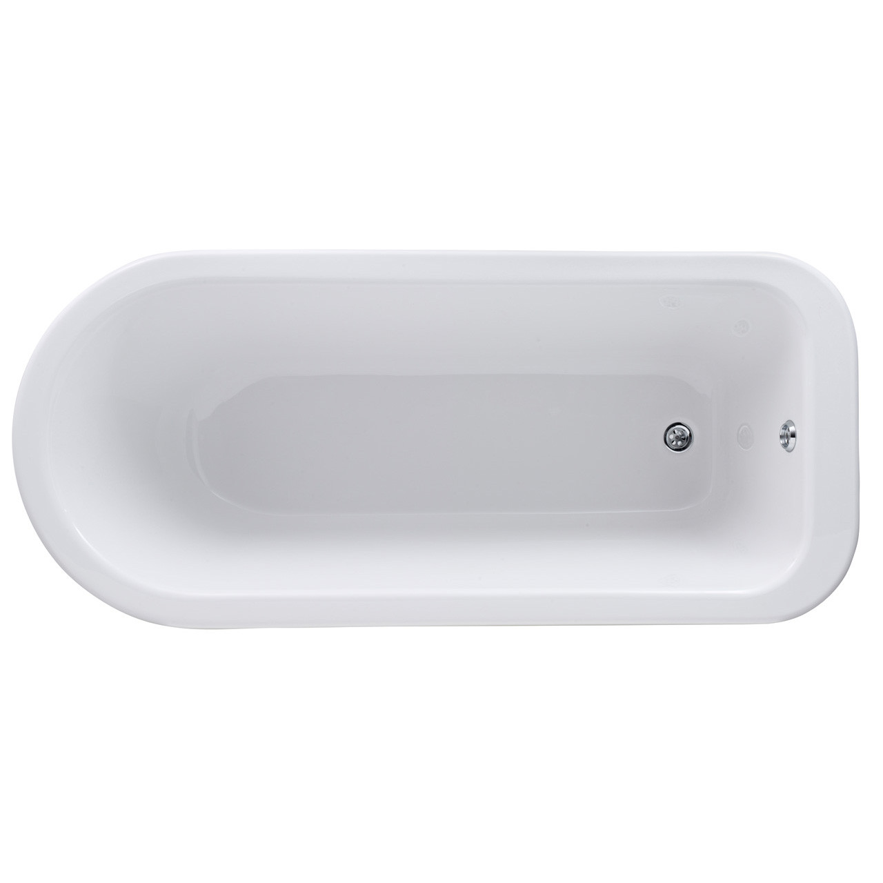 Premier White Berkshire 1700 Single Ended Freestanding Bath with Corbel Legs - RL1707T