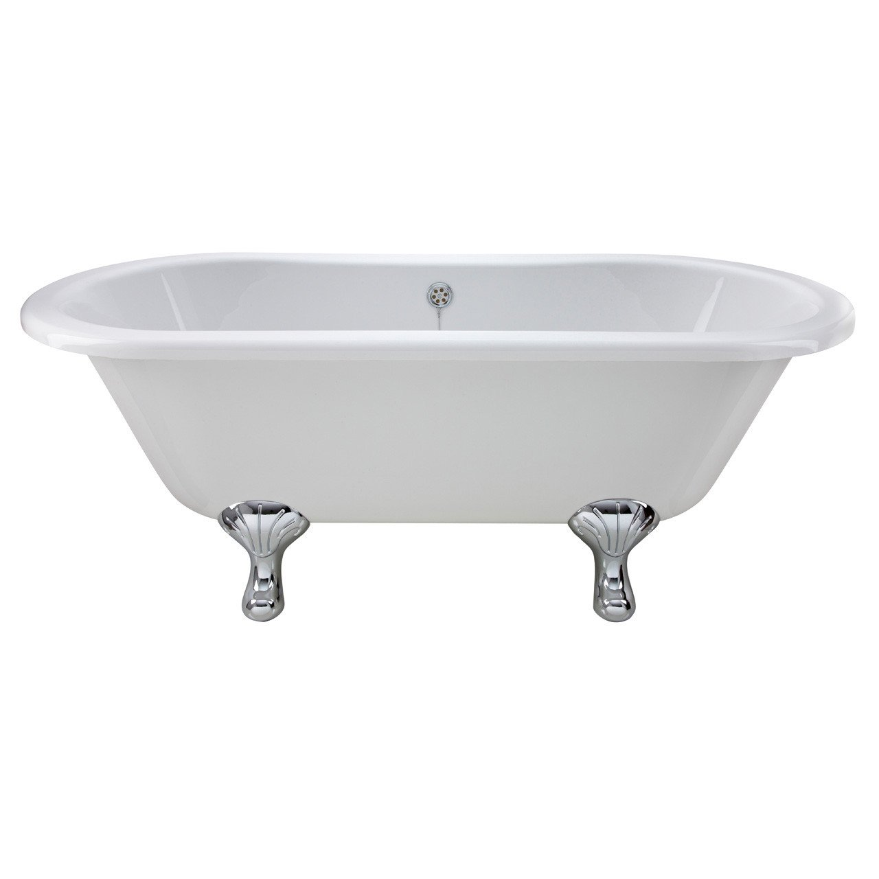 Nuie Kingsbury 1500mm Double Ended Freestanding Bath with Corbel Legs - RL1501T