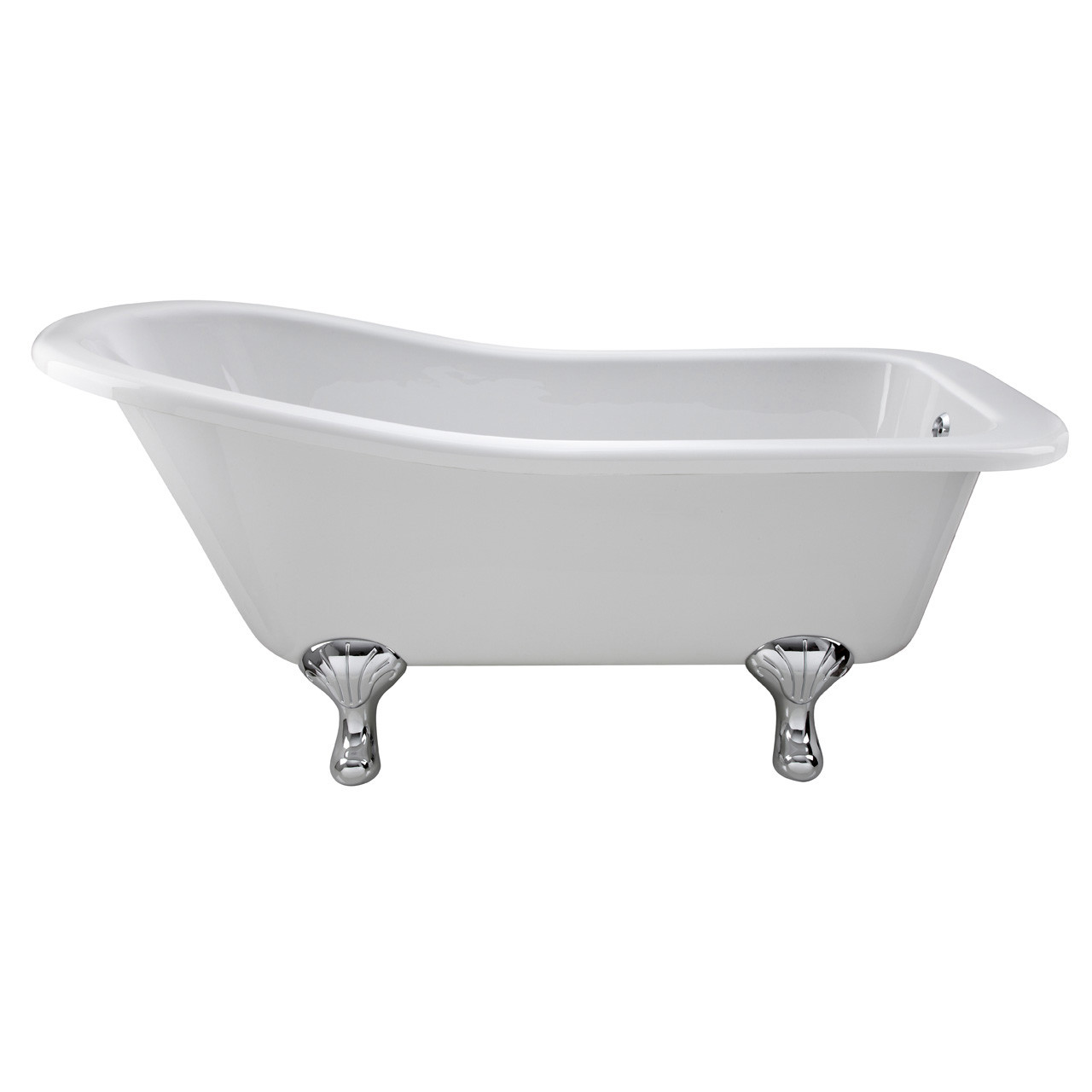 Premier White Kensington 1500 Single Ended Freestanding Bath with Corbel Legs - RL1490T
