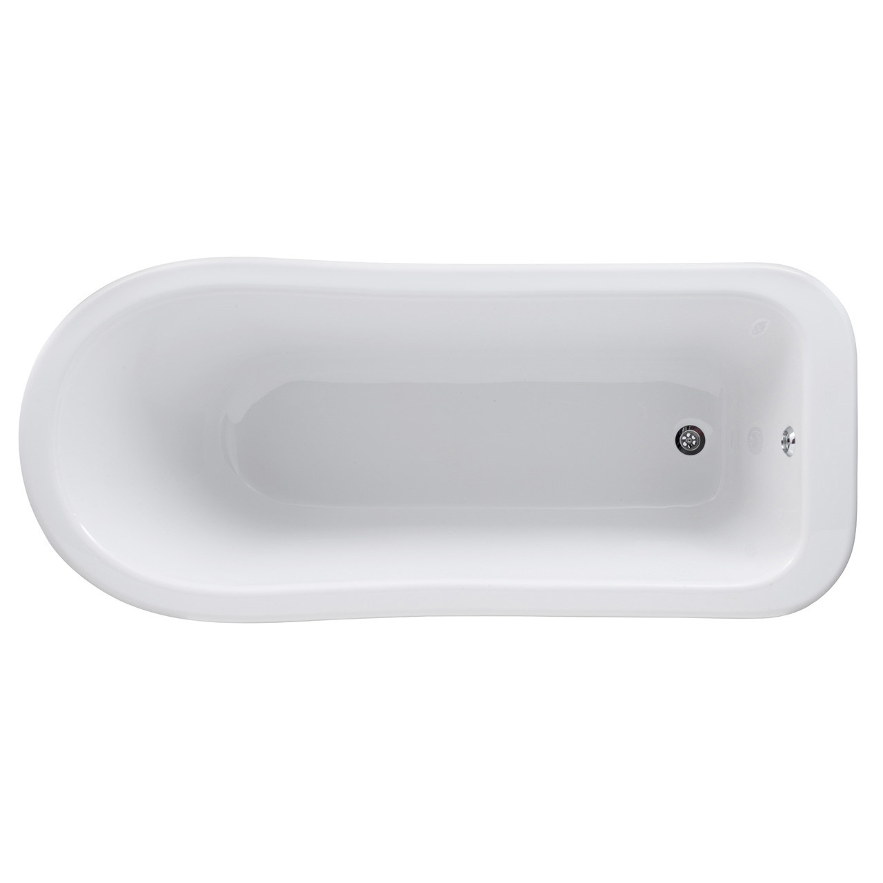 Premier White Kensington 1700 Single Ended Freestanding Bath with Corbel Legs - RL1690T