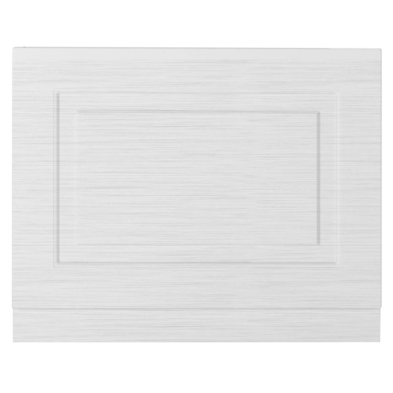 Premier York White Ash 700mm Bath End Panel 480/100 - OLP111