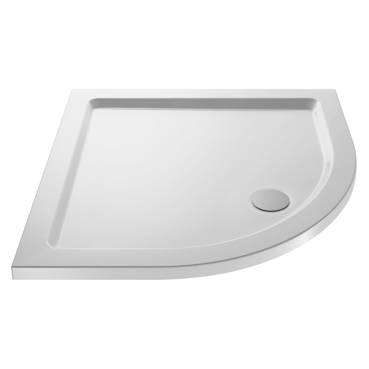 Premiere Pearlstone 1000mm x 1000mm x 40mm Quadrant Shower Tray - NTP107