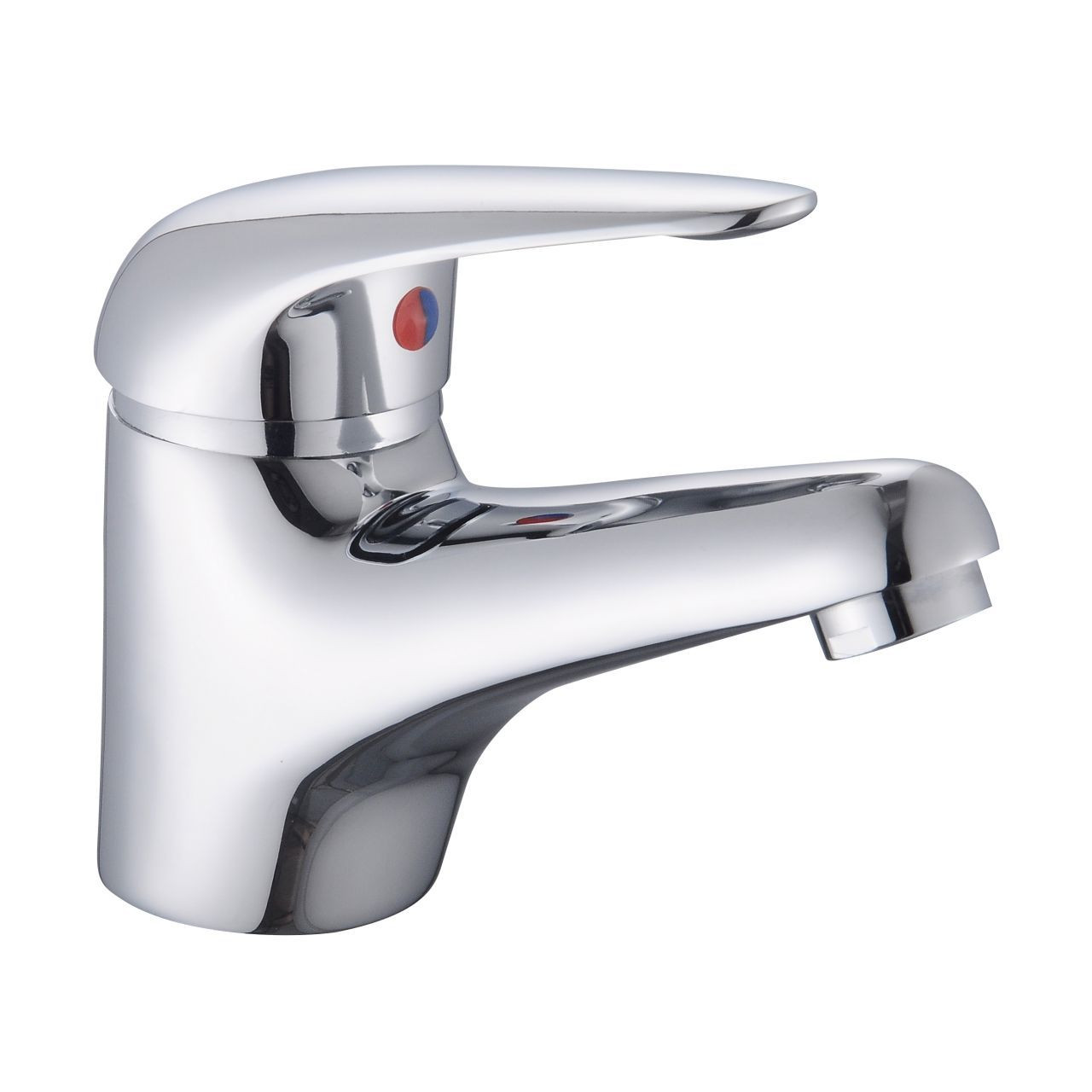 RAK Basic Mono Basin Mixer Tap with Clicker Waste - RAKBAS3001