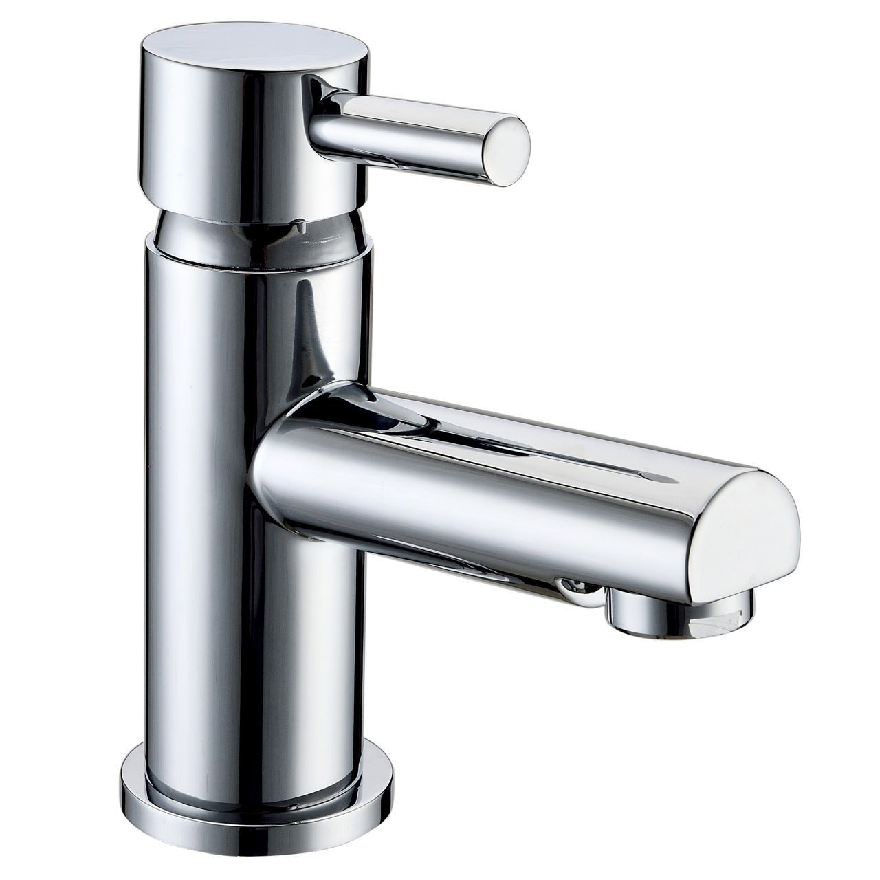 RAK Prima Mono Basin Mixer Tap with Clicker Waste - RAKPRI3001