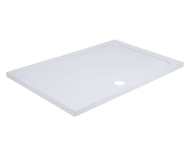 40mm Pearlstone 1400 x 700 Rectangular Shower Tray