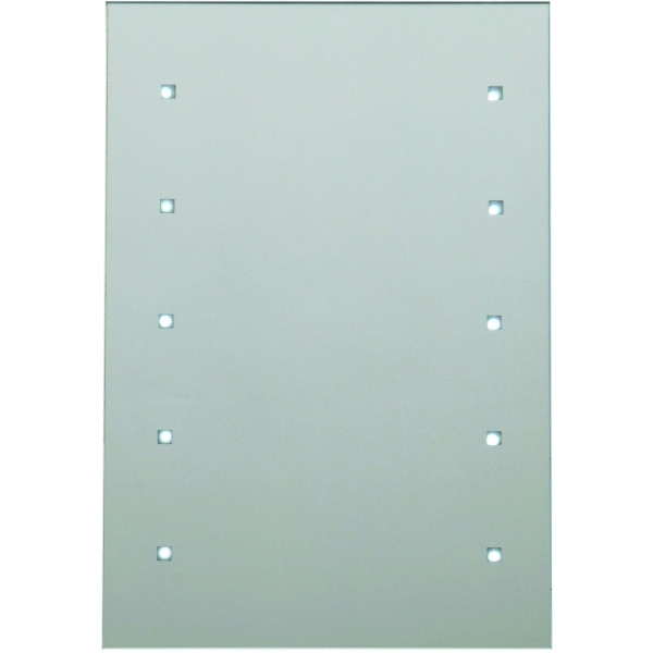 Rectangle Battery Operated 10 Light Mirror 300 x 450mm