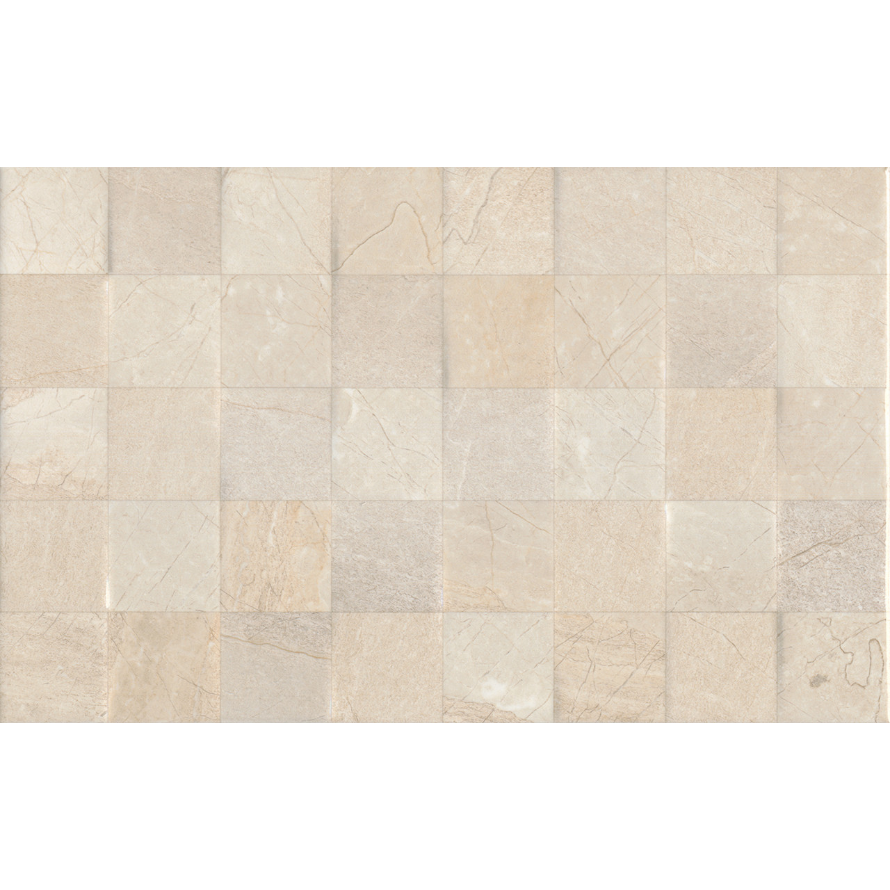 Crema Dorsia Light Décor 25x50 Ceramic Tile
