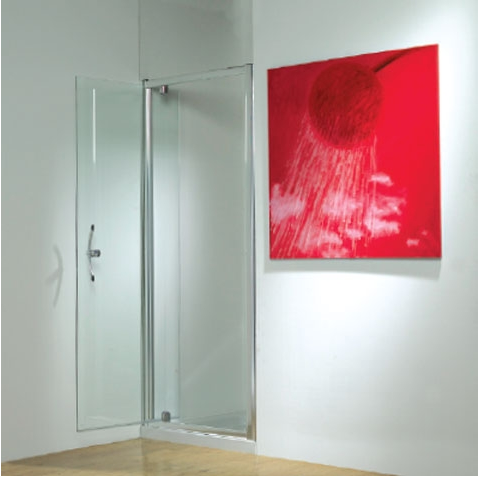 Kudos Original Pivot Door 800mm Silver