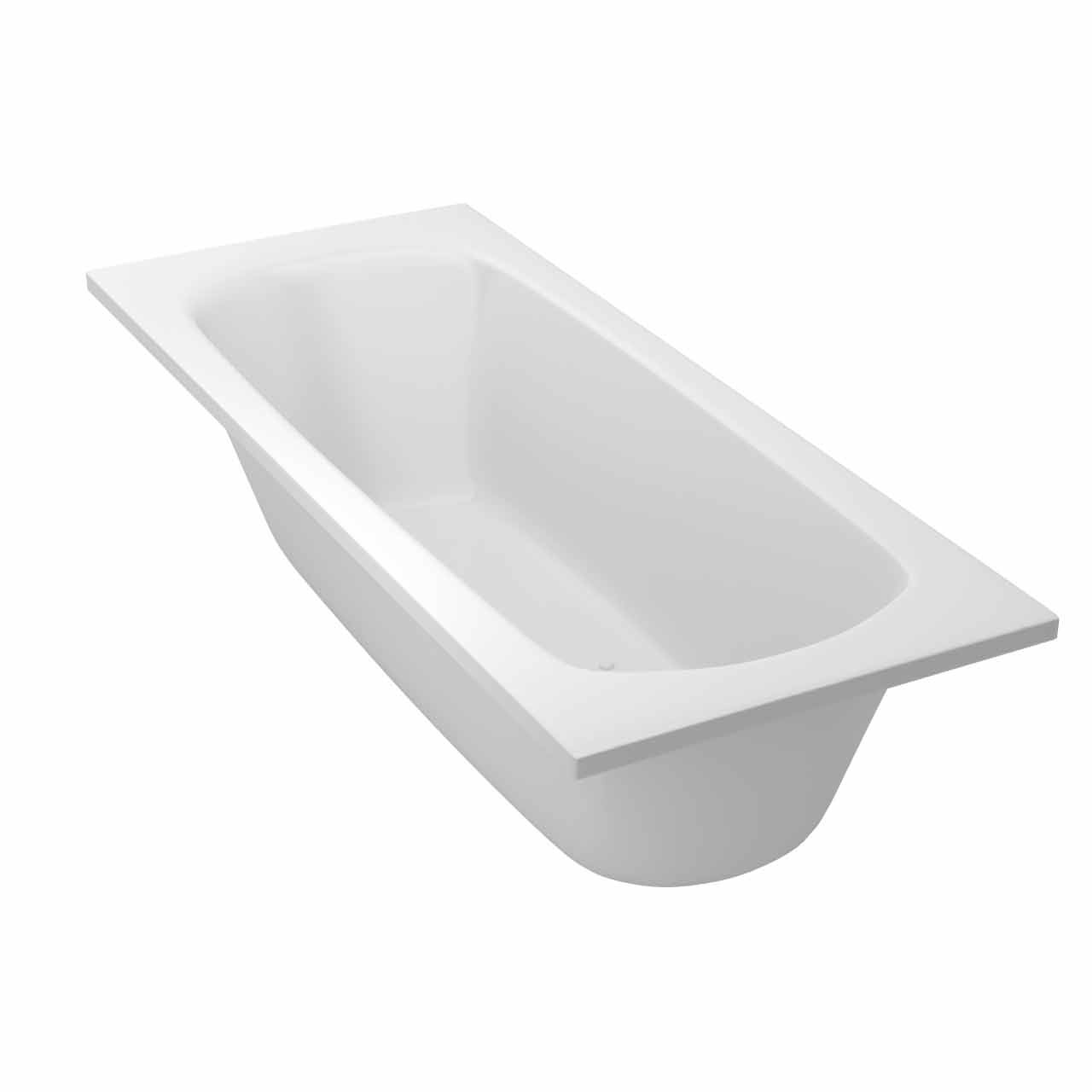 Monte Carlo Anti Slip Textured Base End Tap Bath 1700mm x 700mm