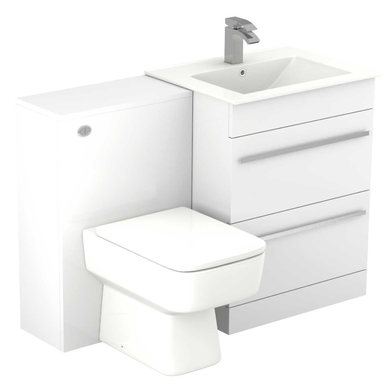 Select II Right Hand Shower Bath Suite