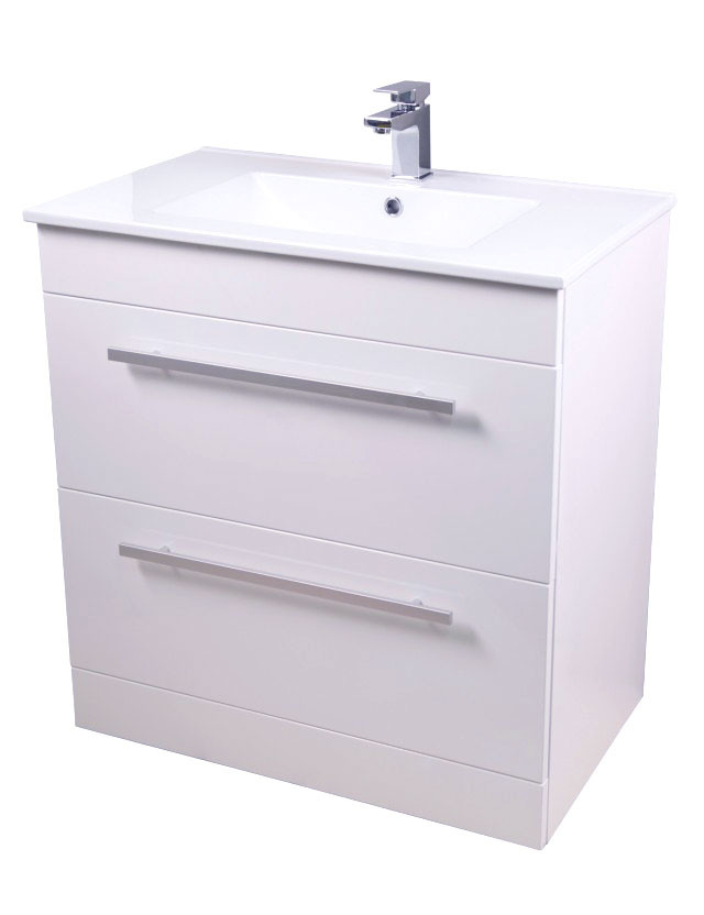 Select Square 750 Unit & Basin