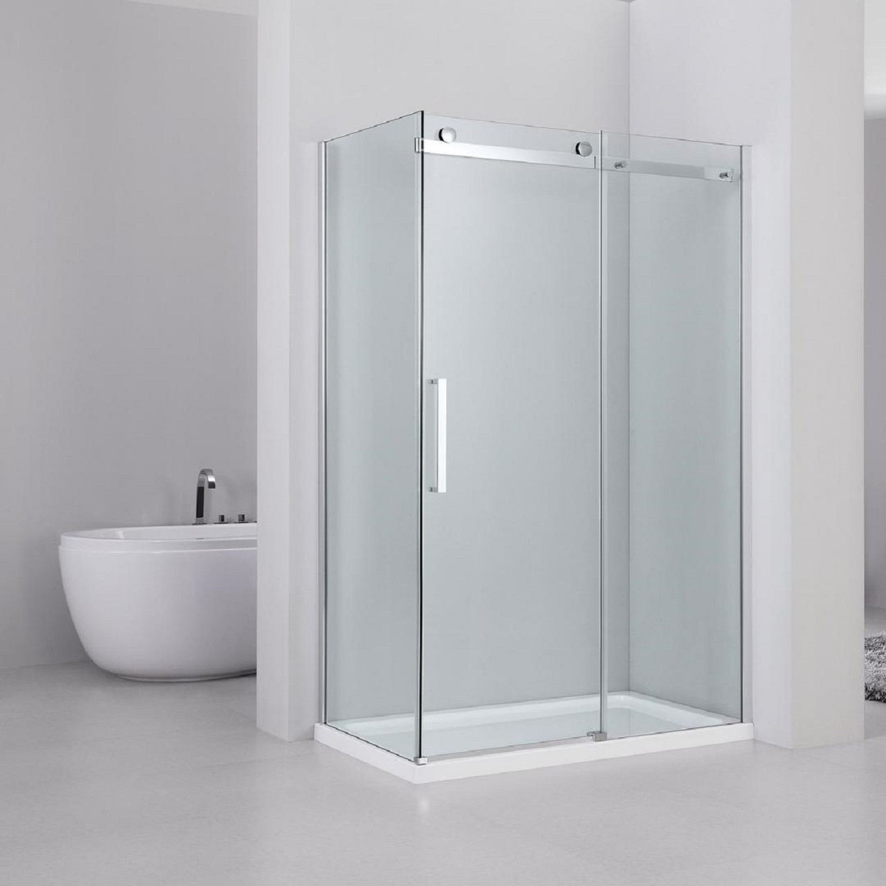 Series 10 Roller 1200mm x 800mm Sliding Door Shower Enclosure £358.25