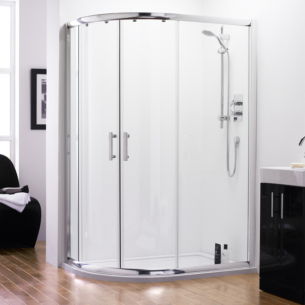 Series 6 Quadrant Offset Shower Enclosure 1000 x 800