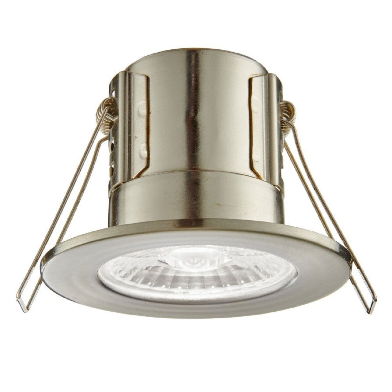 sports shoes 8877a 3d452 ShieldECO Satin Bathroom Downlight IP65 4W Dimmable Cool White Light