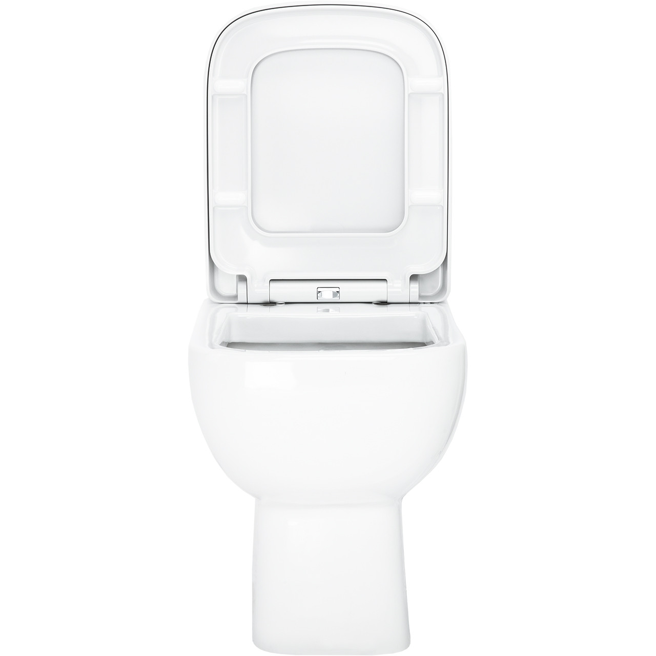 Sirus Back To Wall Toilet With Soft Close Seat Front
