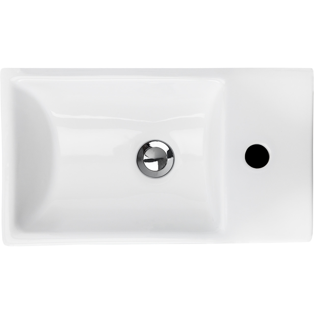 Solutions Cloakroom Vanity Unit & Basin Gloss White