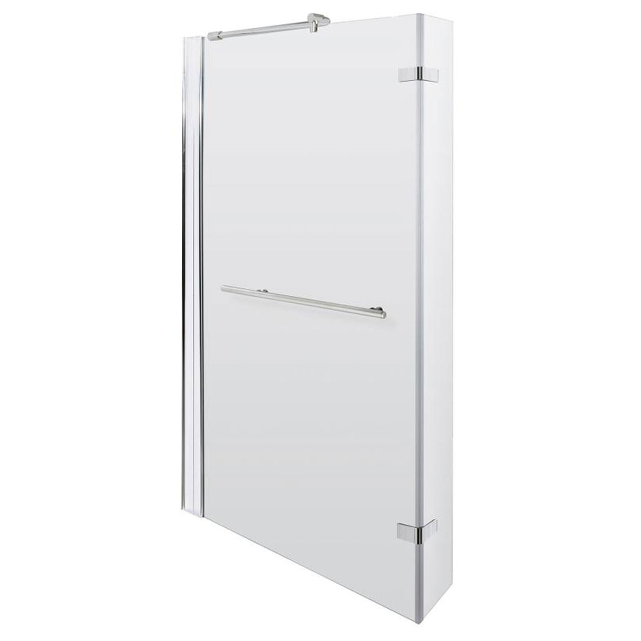 L Shape Shower Bath 1700 mm with Towel Rail Shower Screen and Panel Left Hand