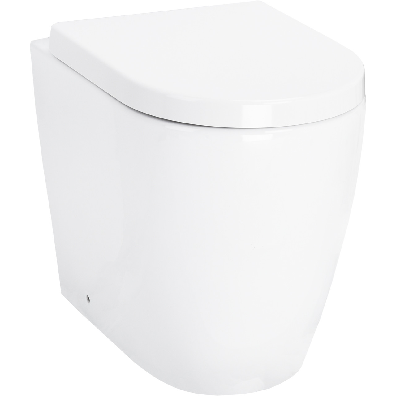 Stamford Back to Wall Toilet with Soft Close Seat