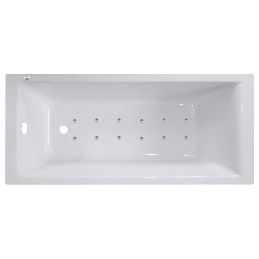 Summit End Tap 12 Jet Easifit Spa Whirlpool Bath 1700x700