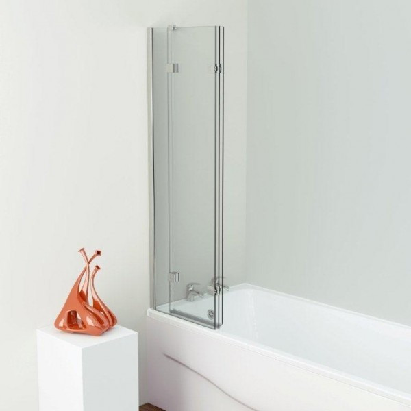 Kudos Inspire Three Panel Infold Shower Screen Left Hand (Closed)