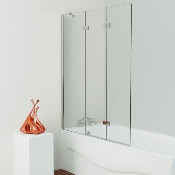 Kudos Inspire Three Panel Infold Shower Screen Left Hand