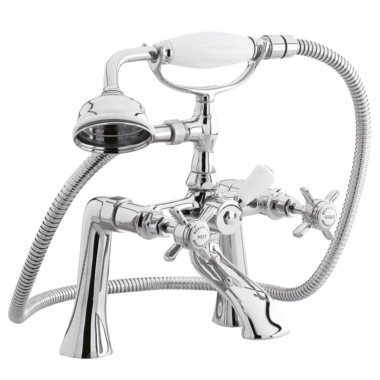 Ultra Beaumont 1/2 Bath and Shower Mixer with Shower Kit - I304X