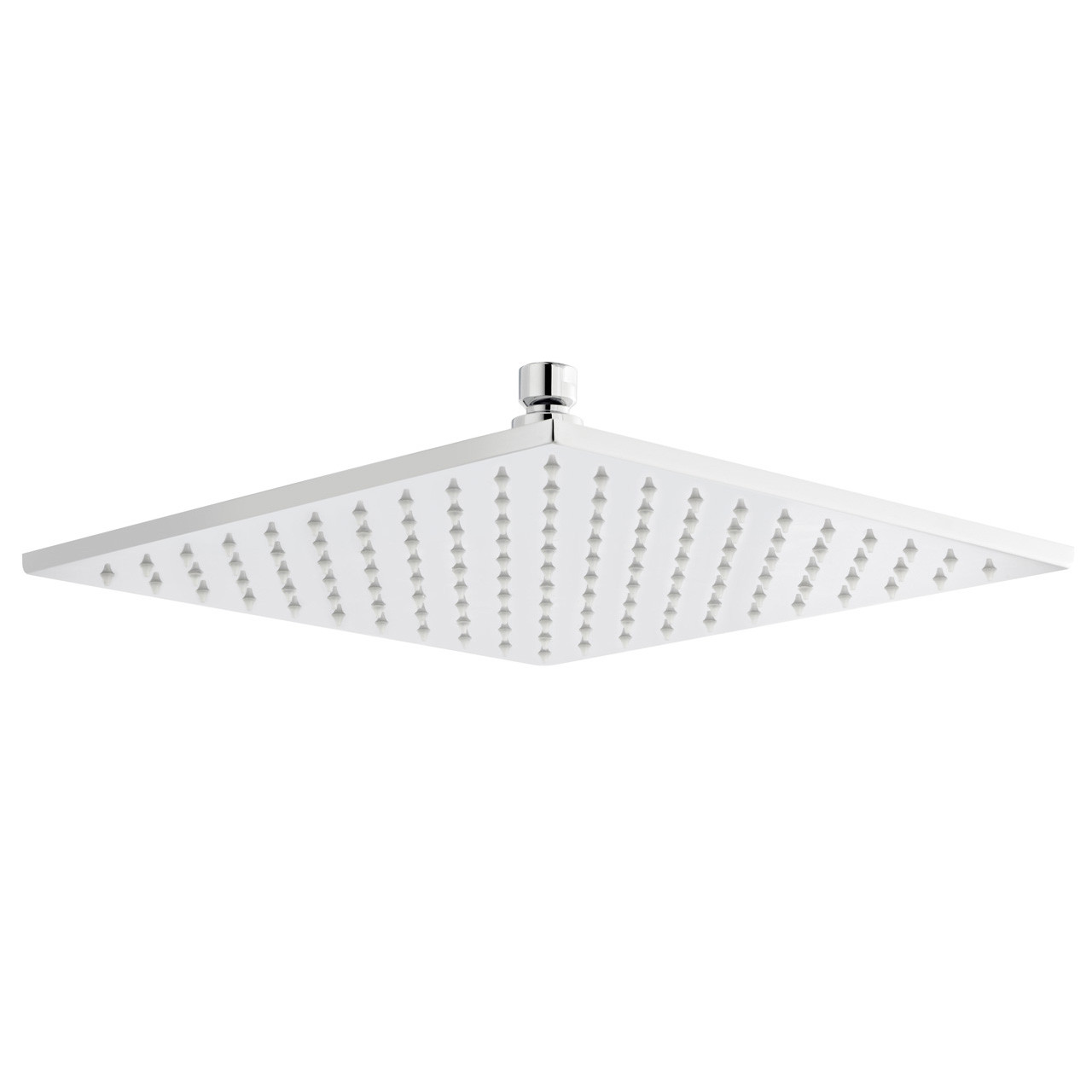 Ultra LED 200mm Square Fixed Shower Head - STY070