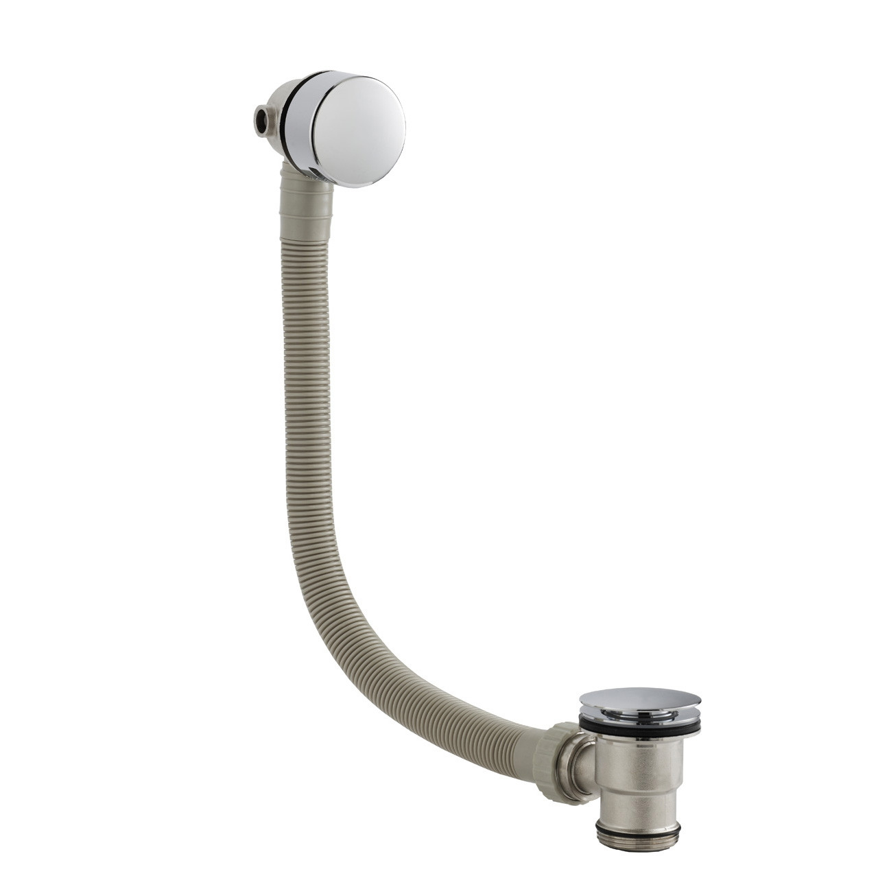 Ultra Round Slimline Freeflow Bath Filler - E316