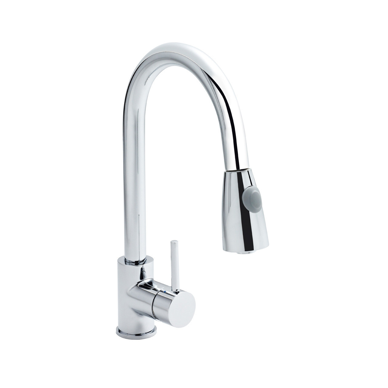 Ultra Side Action Kitchen Tap with Rinser - KC318