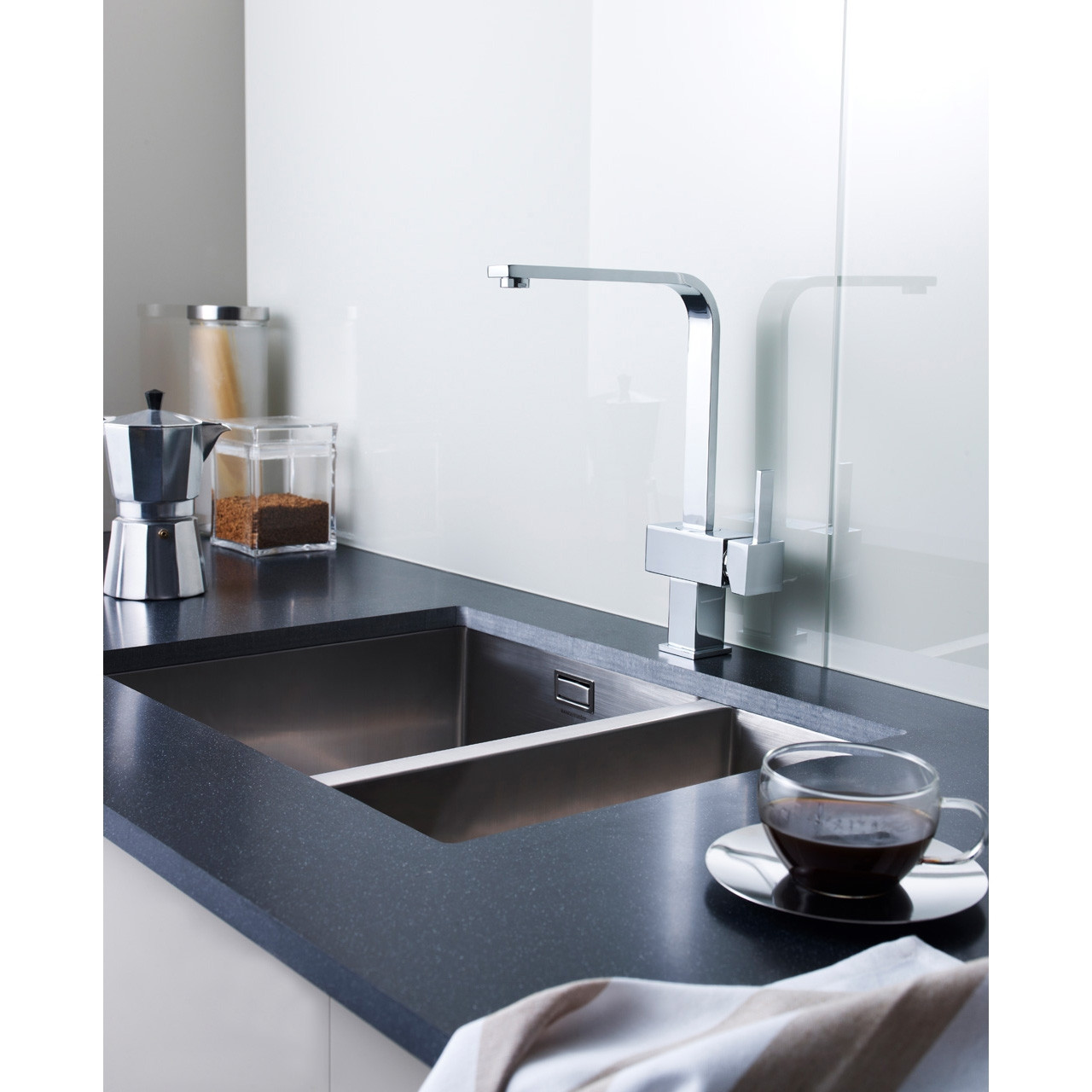 Ultra Square Side Action Kitchen Tap - KC312