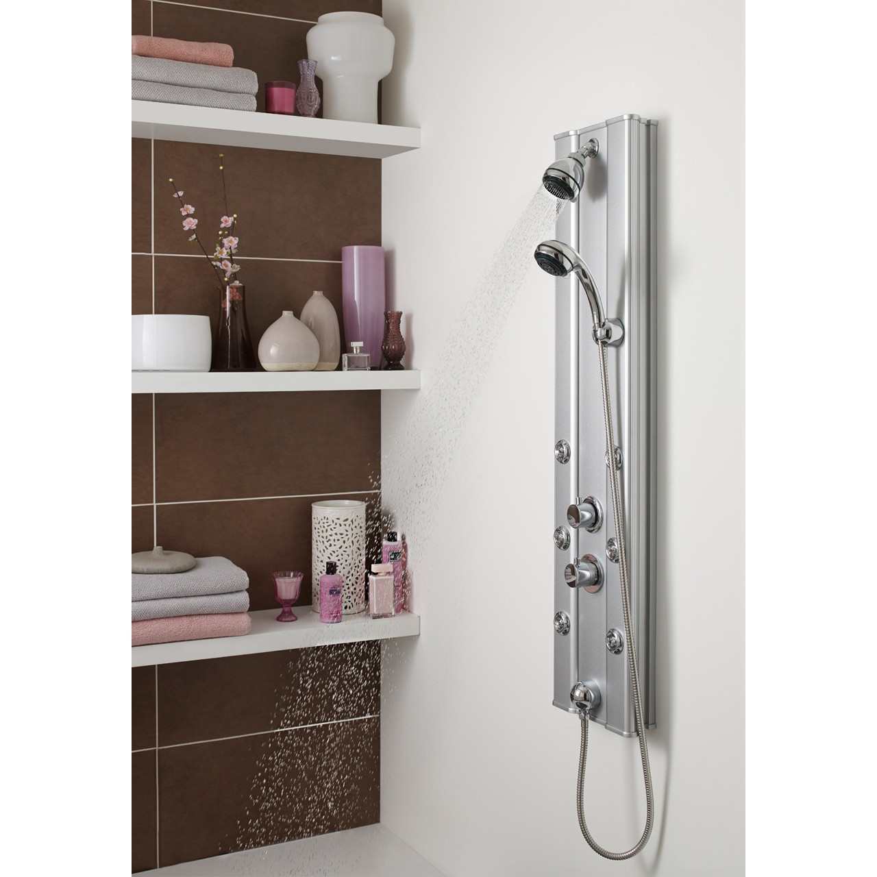 Ultra Thermostatic Shower Panel - AS305