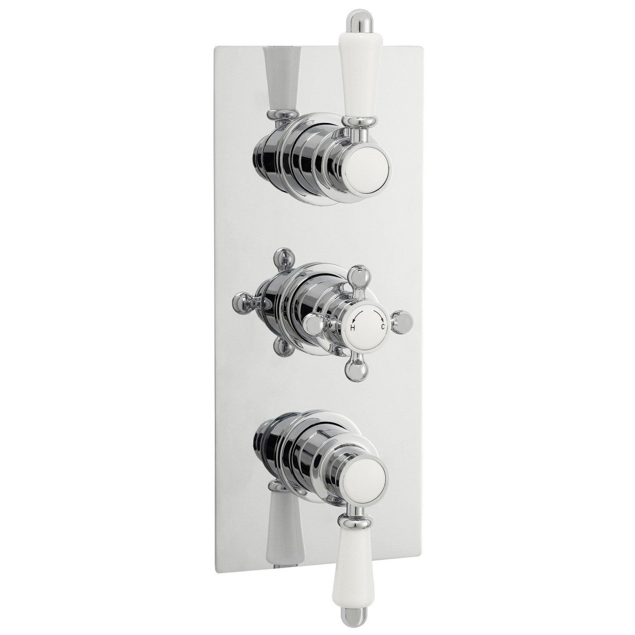 Ultra Traditional Triple Concealed Thermostatic Valve - ITY315