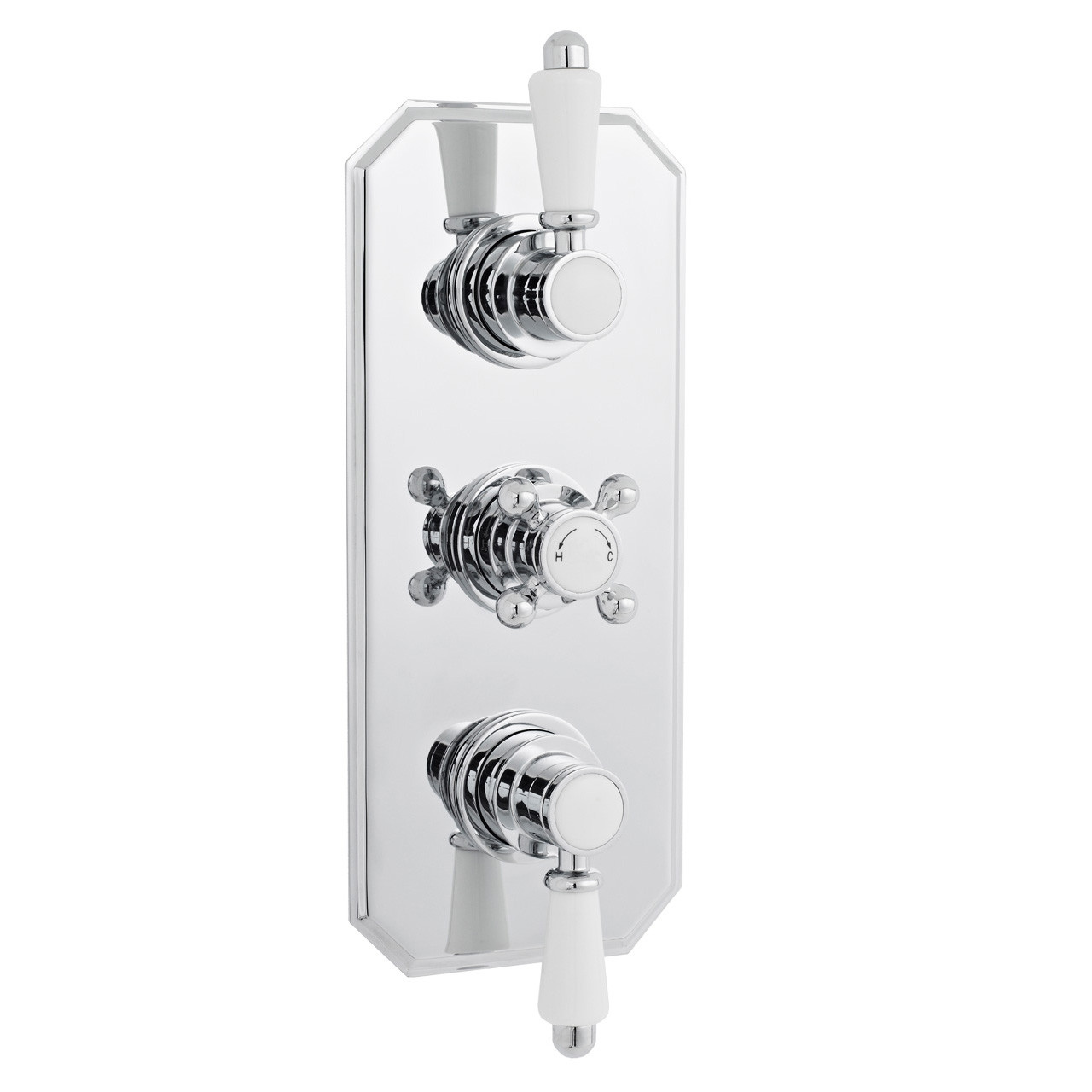 Ultra Triple Concealed Thermostatic Valve - ITY317