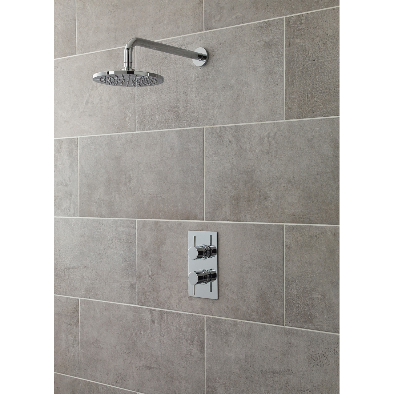 Nuie Quest Twin Concealed Thermostatic Shower Valve - QUEV51
