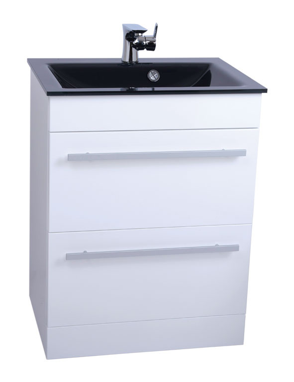 Venice Anthracite 600 Select Unit & Basin