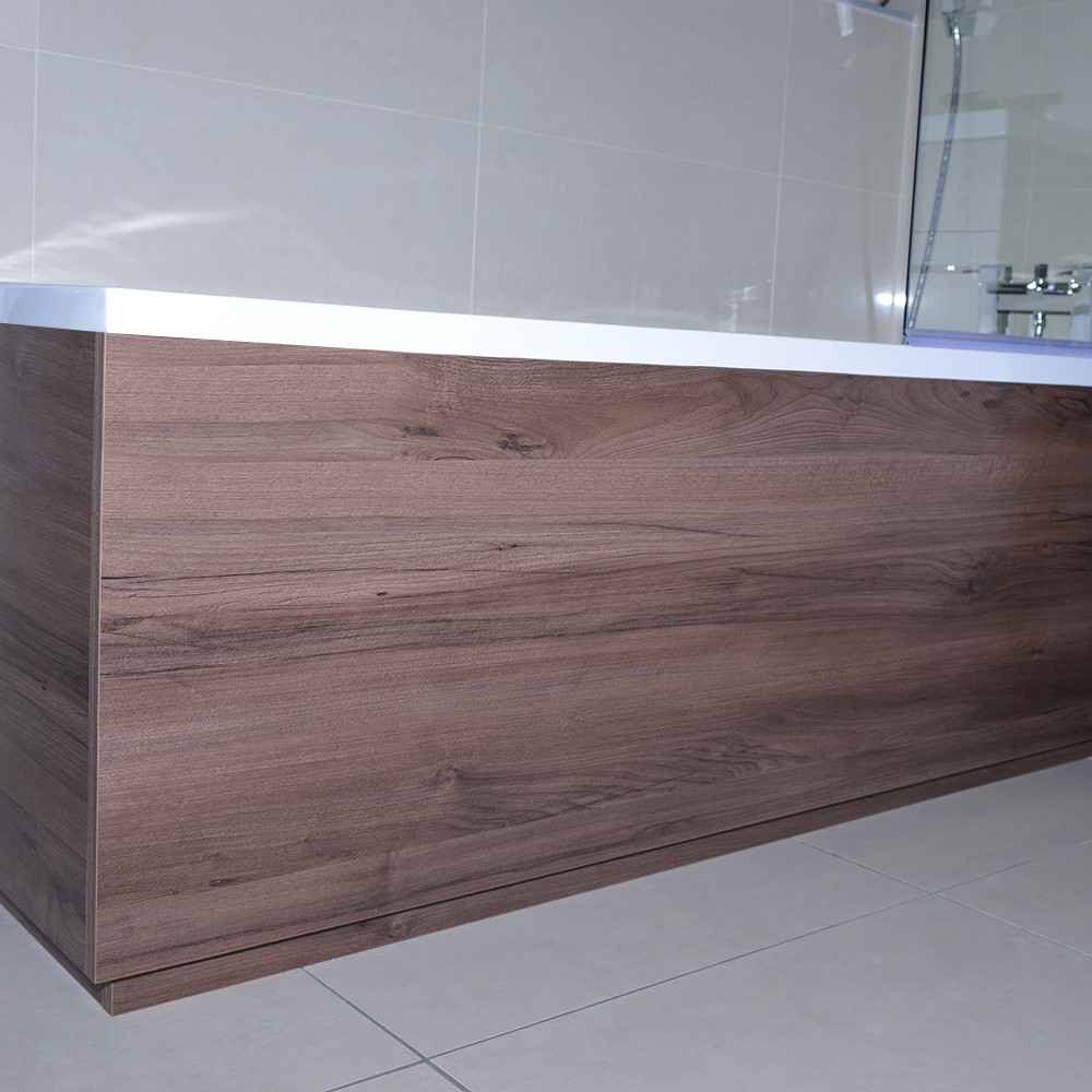 Napoli Walnut 1700mm Front Bath Panel